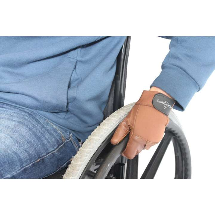 Gants fauteuil roulant Glabaleather Classic