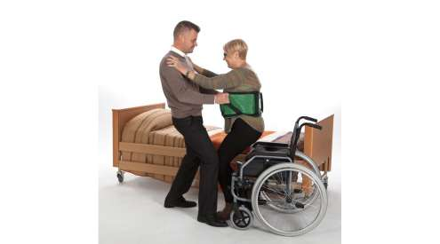 Equipment to facilitate the transfer of disabled persons